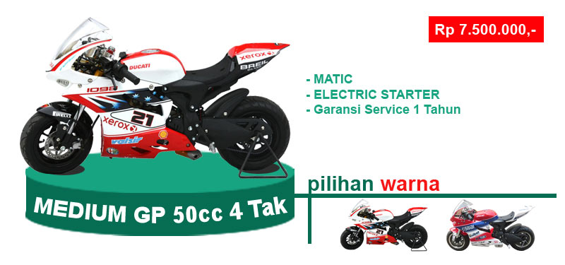 medium GP 50cc 4 tak