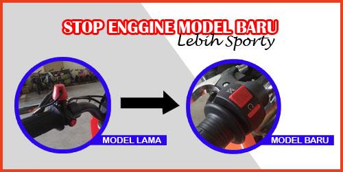 Mini Motor Kini Hadir Dengan Stop Enggine Lebih Sporty