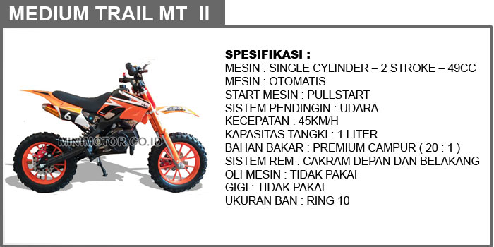 mini trail medium MT 2