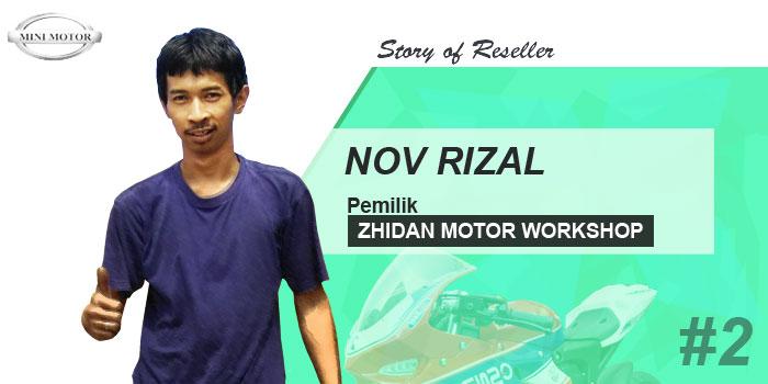 Reseller Story #2 : Dari Jualan Mini Motor Sekarang Saya Punya 3 Cabang
