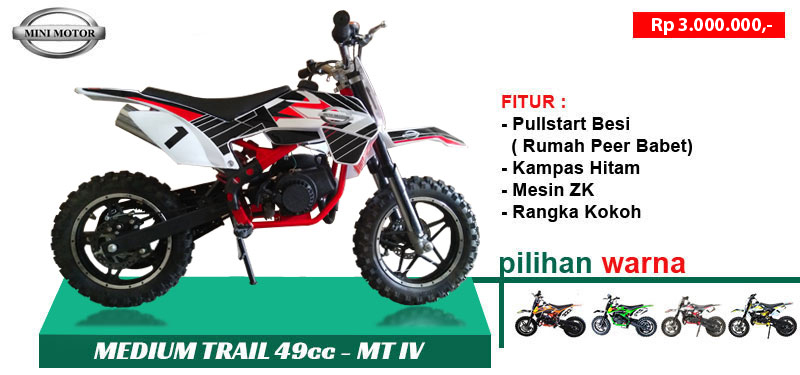 Medium Trail MT4 49cc