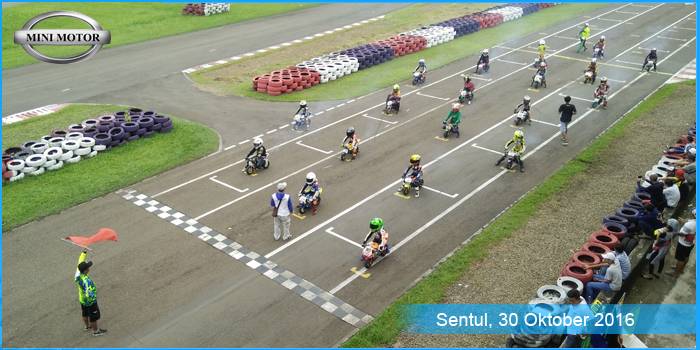 Seru, Balap Mini GP Sentul International Karting Circuit