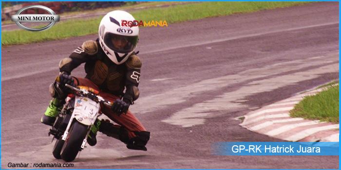 GP-RK 49cc Hatrick Juara di Ajang 1 Day Fun Race Sentul