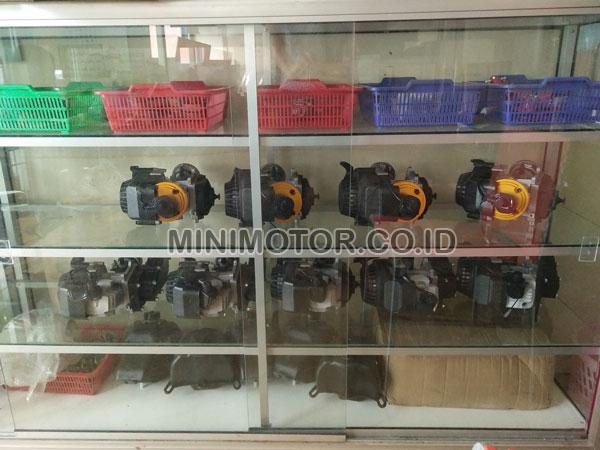etalase sparepart mini motor