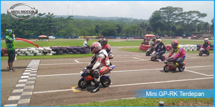 Mini GP-RK Melenggang Manis di Sirkuit Sentul
