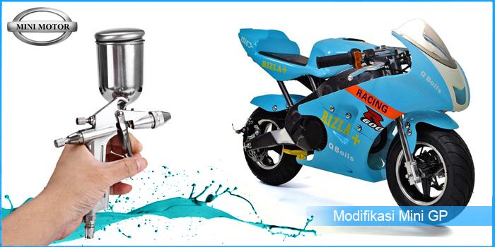 Modifikasi Keren Moto Mini GP 49cc