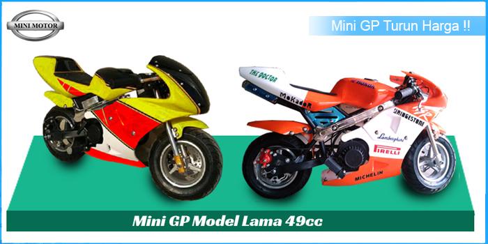 Mini GP Model Lama 49cc Turun Harga !!