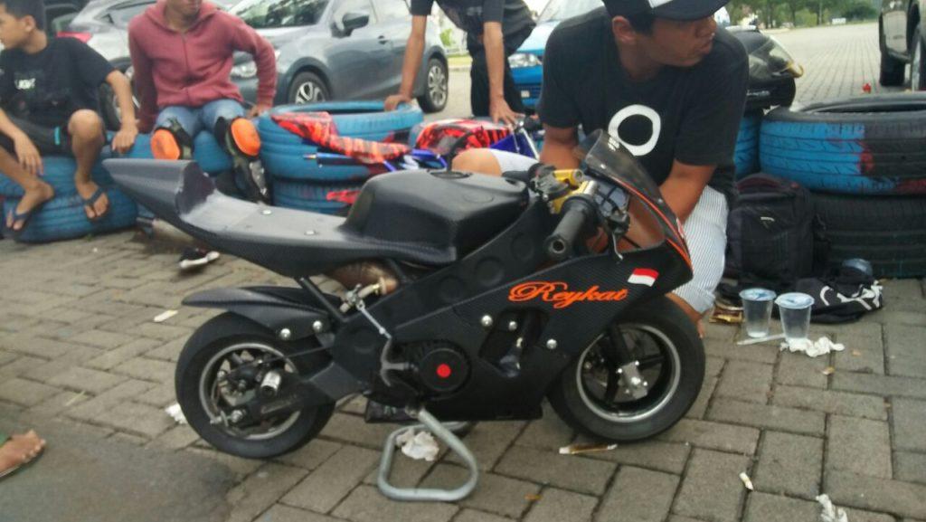 balap mini motor tanggerang 2