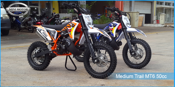 medium trail 50cc 2 tak mt6 dalam infografis
