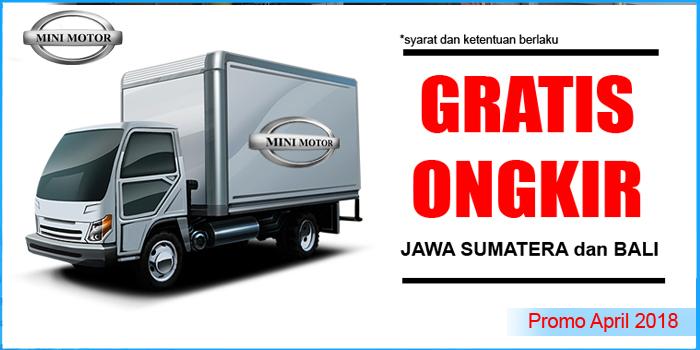 Promo April 2018 – Gratis ongkos kirim Jawa, Sumatera dan bali