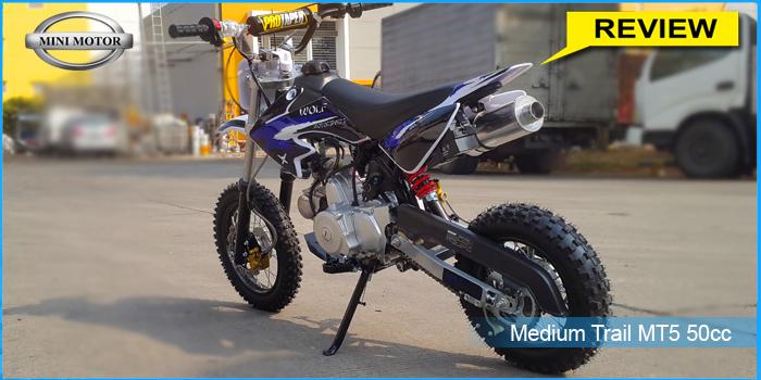 Mengulas Lebih Detil Trail MT5 50cc Model Baru