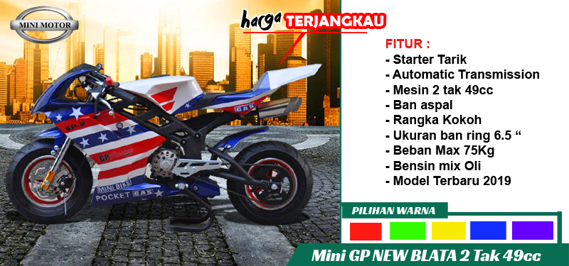 Mini GP blata 49cc